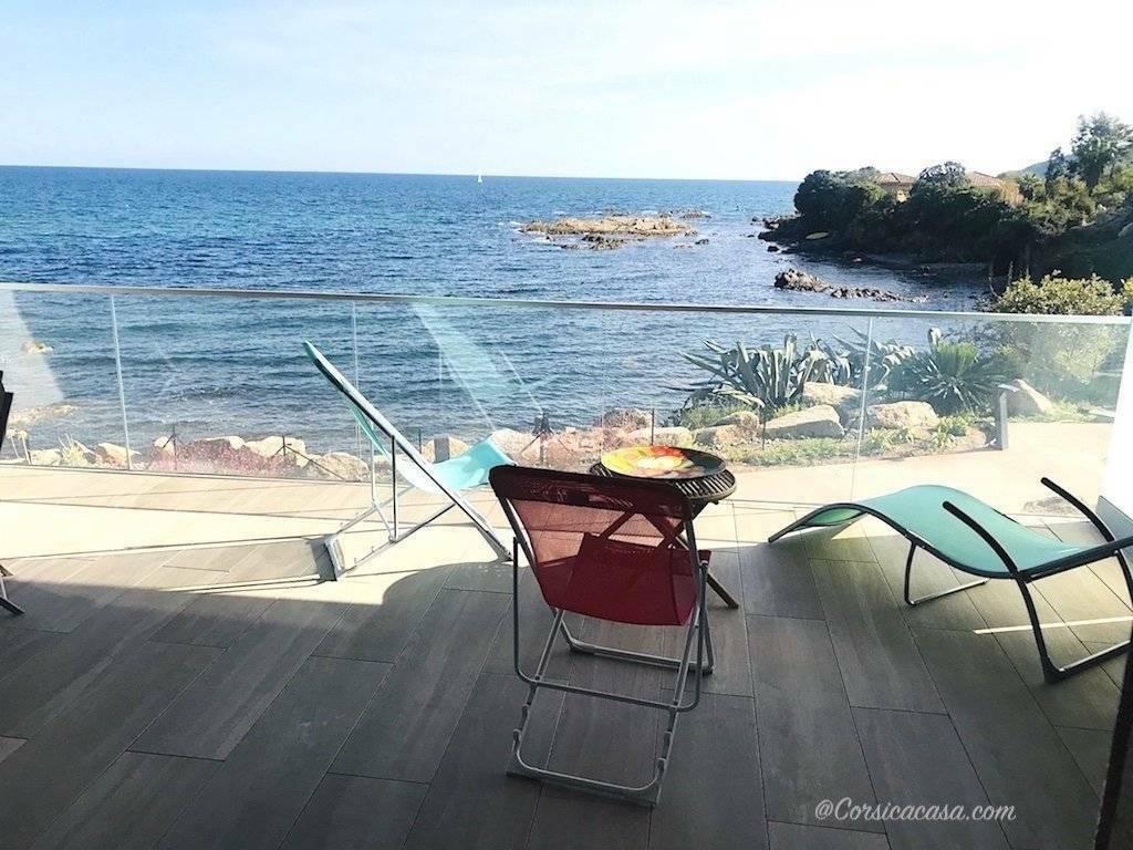 Solenzara – appartement standing avec vue mer 2/4 personnes