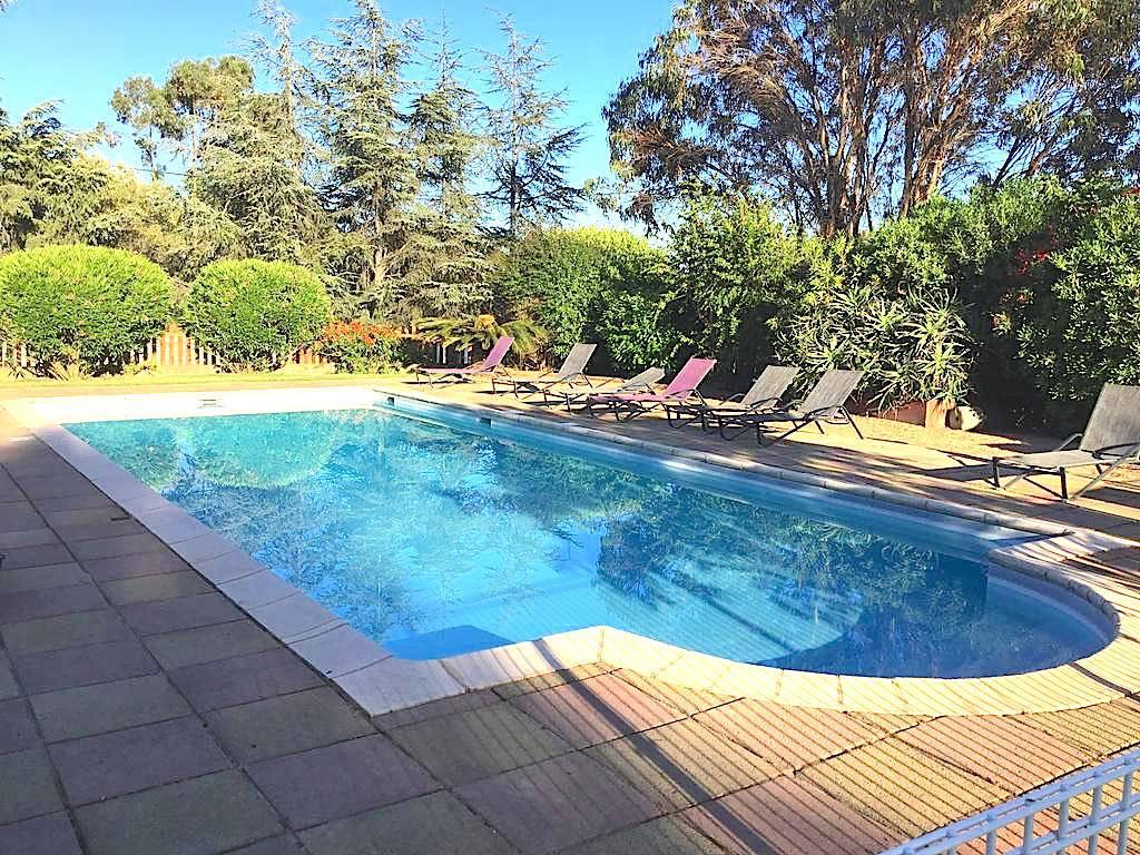 Solenzara – appartement pour 4 personnes – vue mer – piscine