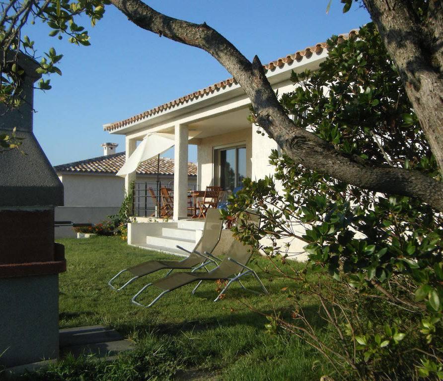 Solaro – Jolie villa climatisée à 400 m de la plage