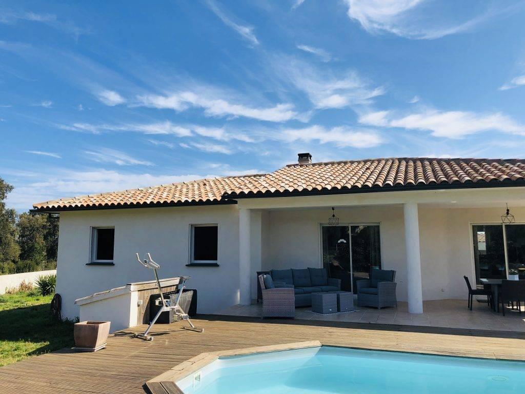 Solaro-Solenzara – Villa contemporaine avec piscine pour 6 personnes