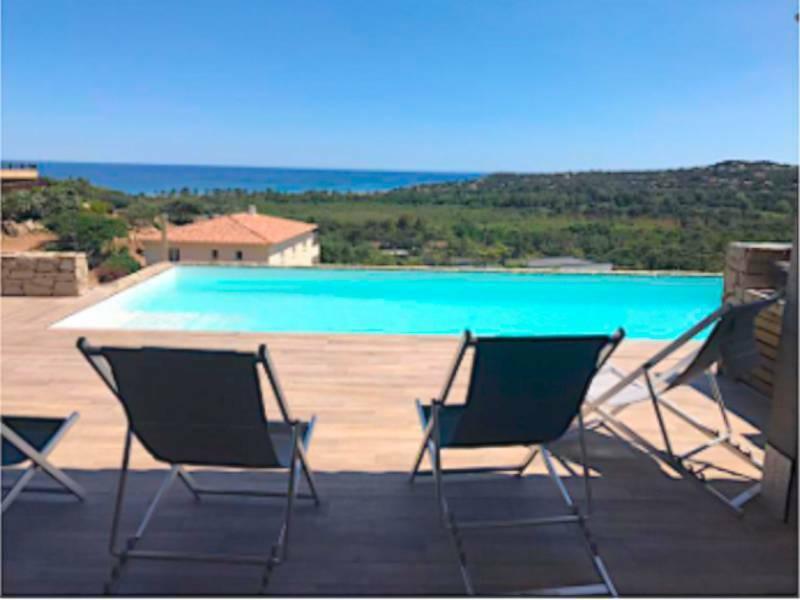 Proche Porto-Vecchio – villa avec piscine privée  proche de la mer
