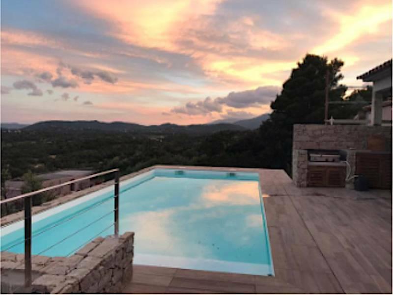 villa piscine privee ste lucie de porto vecchio 10 pers-piscine
