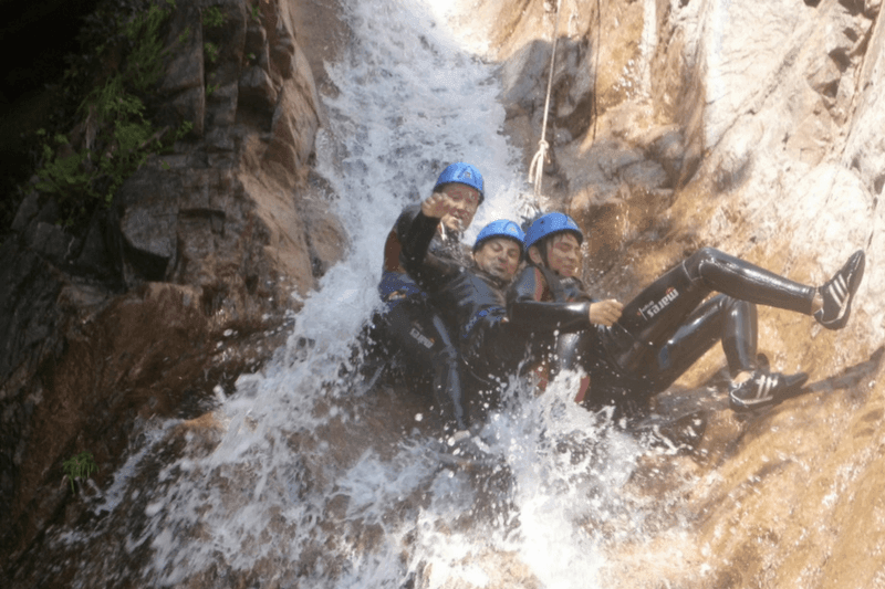 Réservation canyoning